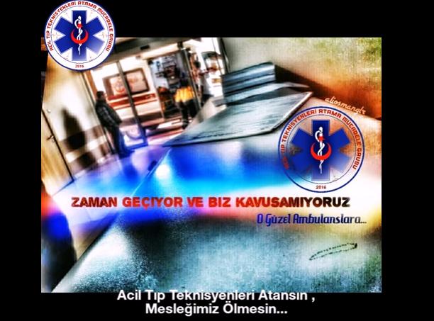 Acil Tıp Teknisyenleri Atansın, Mesleğimiz Ölmesin...