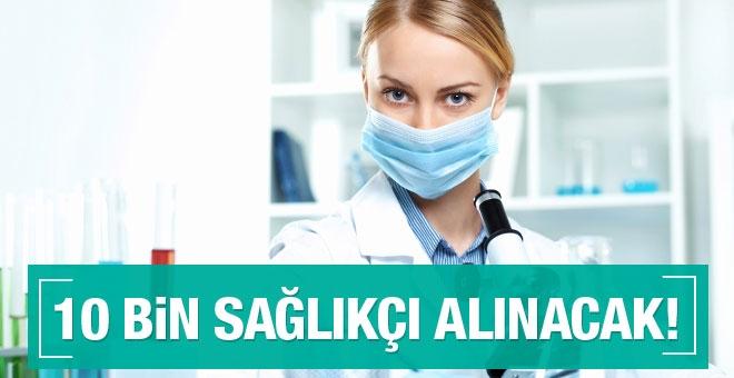 10 bin sözleşmeli sağlık personeli alınacak