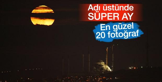 Süper Ay Fotoğrafları