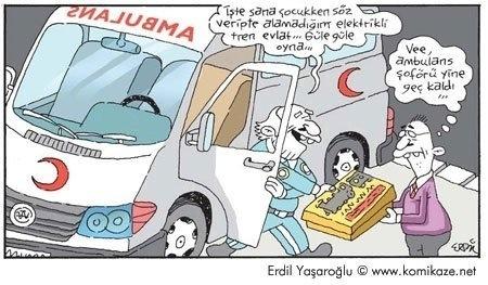 Ambulans Şoförü yine geç kaldı :)