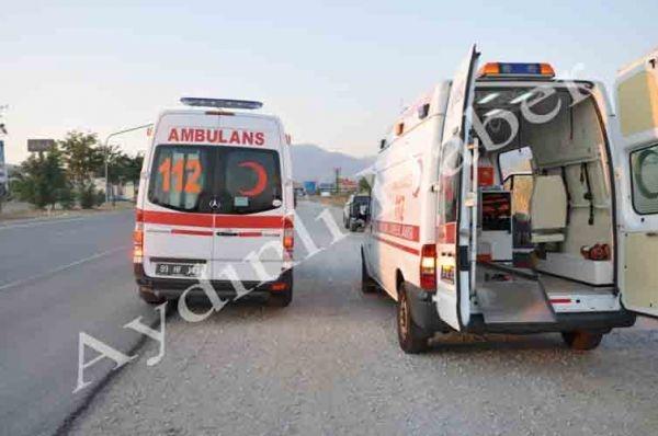 112 ambulansı arızalanınca...