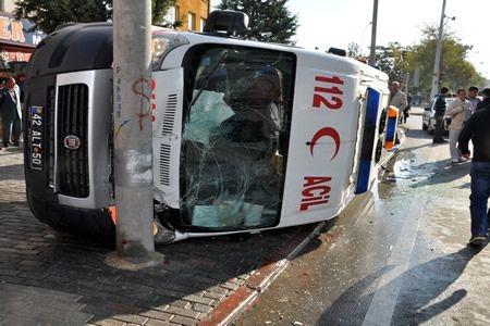 Konya 112 Ambulans Kazası