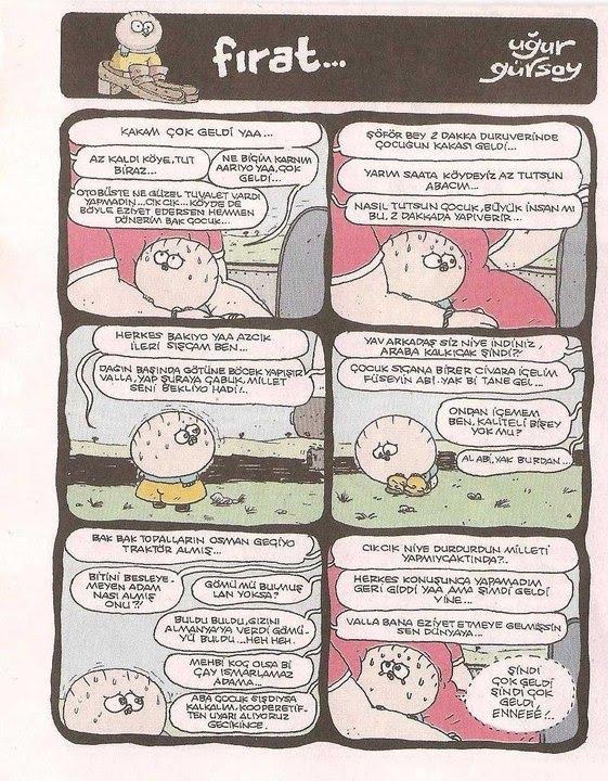 FIRAT karikatürlerini sevenlere özel...