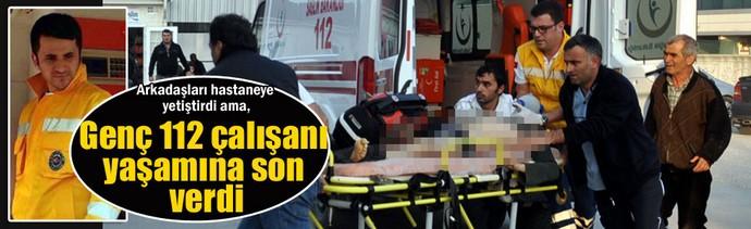 Genç Paramedik intihar etti