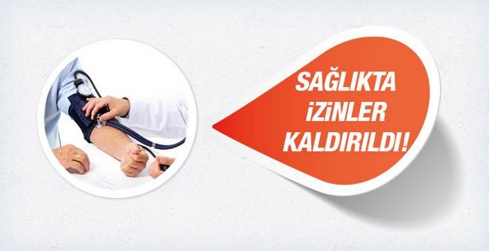 Darbe girişimi sağlık çalışanların izinleri iptal!