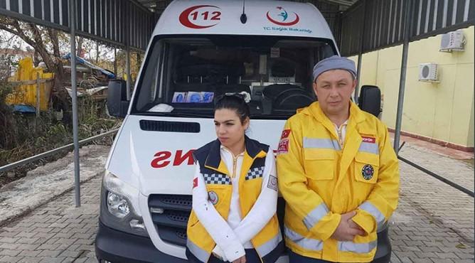 112 Acil ekibine saldıran 2 kişi gözaltına alındı