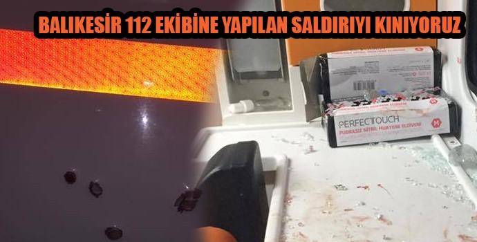 112 Ekibine Silahlı Saldrı