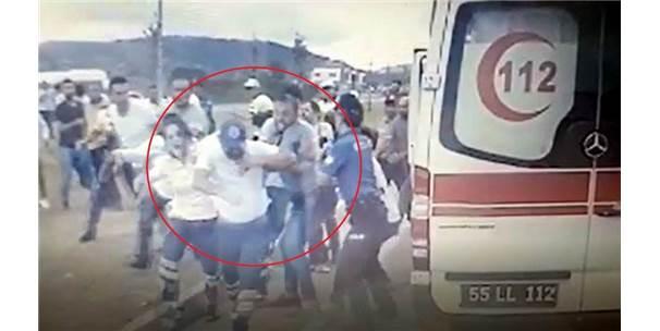 112 Personeline Saldırı Anının Görüntüleri Ortaya Çıktı