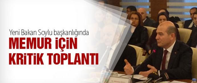 KPDK toplantısı Bakan Soylu başkanlığında başladı