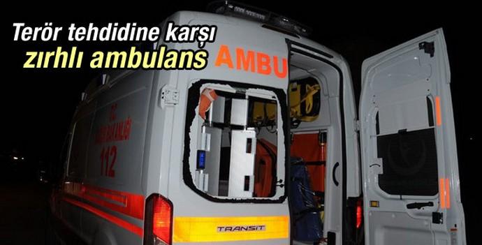 Sağlıkta terör tehdidine karşı zırhlı ambulans dönemi