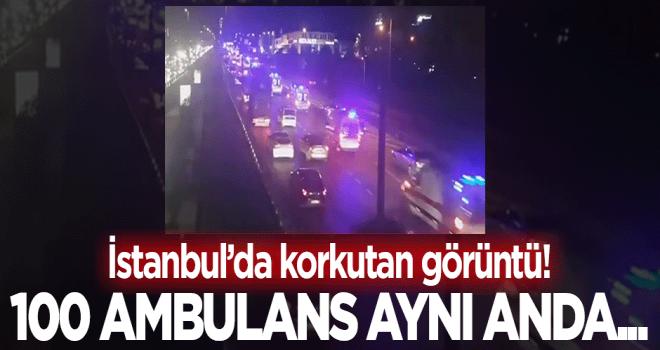 İstanbul'da ambulans tedirginliği