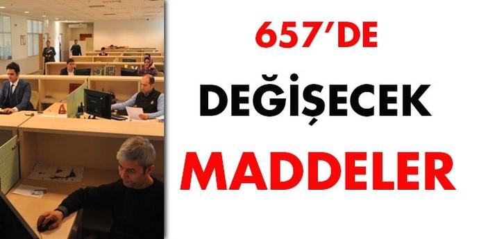 657'de değişecek maddeler