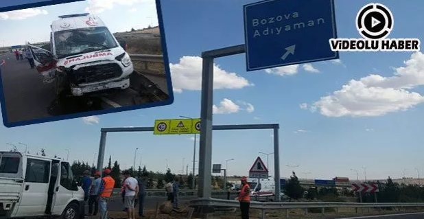 Şanlıurfa'da Ambulans Kazası: 3 Yaralı