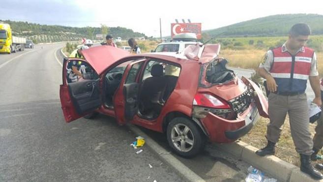 Acil Tıp Teknisyenleri Nöbete Giderken Kaza Yaptı