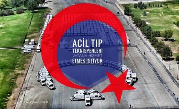 Acil Tıp Teknisyenleri (ATT) 3 bin Kadro istiyor