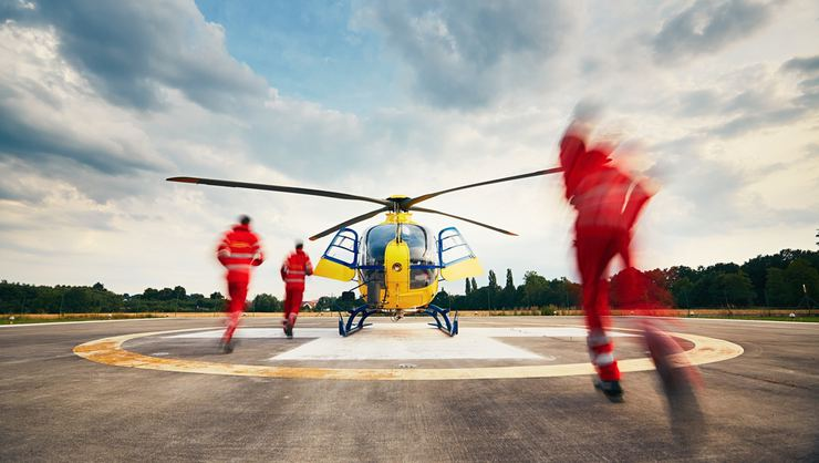 Ambulans Helikopter Düştü: 4 Ölü
