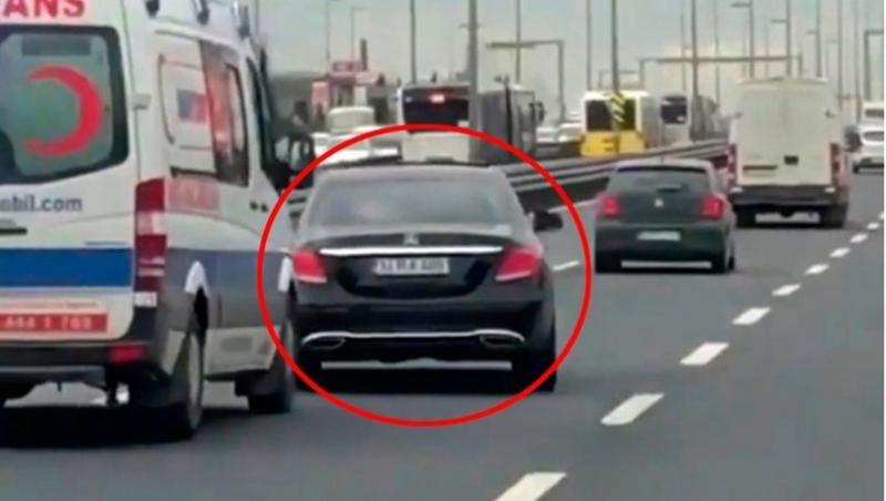 Ambulansa Yol Vermeyen Maganda Sürücü Yakalandı!