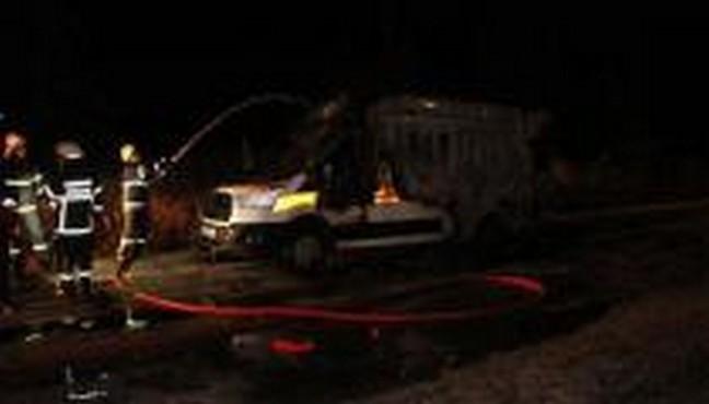 Ambulansta Oksijen Tüpü Patladı, Hasta Yanarak Öldü