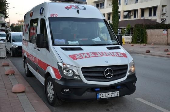 Antalya'da Ambulans Çalındı