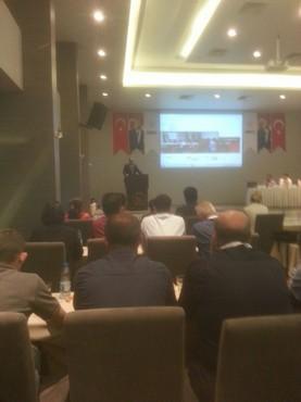 ASH Genel Müdürümüz UMKE Çalıştayında