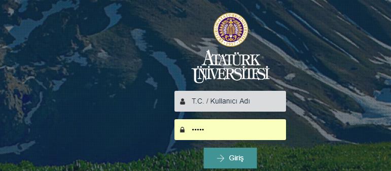 Atatürk Üniversitesi Lisans Tamamlama Öğrencilerinin Dikkatine