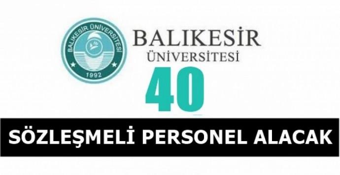 Balıkesir Üniversitesi Sözleşmeli sağlık personeli alımı yapacak