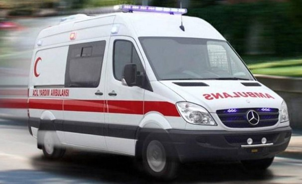 Bursa'da madde bağımlısı ambulansı kaçırıp