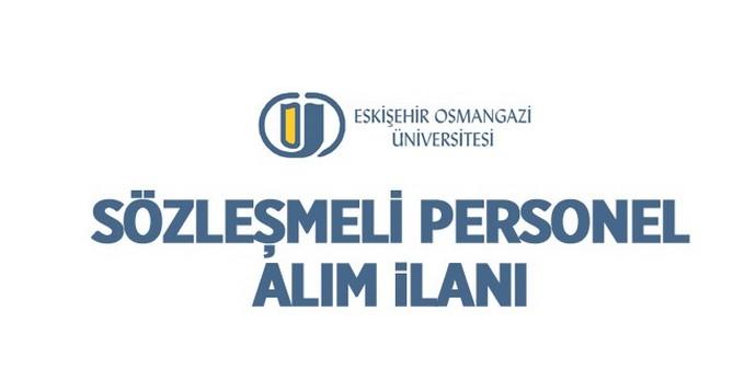 Osmangazi Üniversitesi Sözleşmeli Sağlık Personeli Alımı Yapacak.