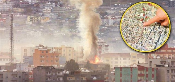 HDP'lilerin ambulans çağırdığı bina PKK'nın karargahı