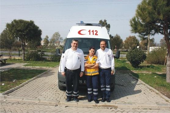 Aliağa'ya Tam Donanımlı Ambulans!