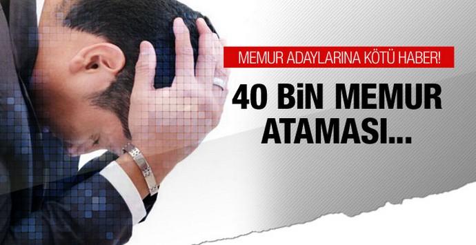 40 bin memur ataması mecliste