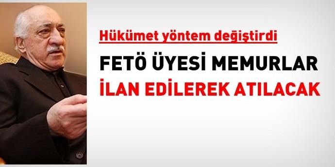 FETÖ üyesi memurlar komisyon kararıyla değil KHK ile atılacak
