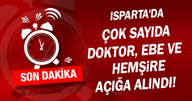 FETÖ/PDY Kapsamında Isparta'da Sağlıkta İkinci Dalga Başladı