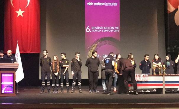 GÜ'lü öğrenciler Uniralli'den ödülle döndü