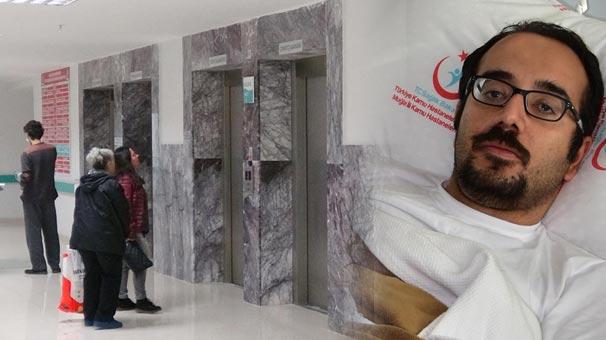 Hastanede asansör yere çakıldı: Kardiyoloji uzmanı yaralandı