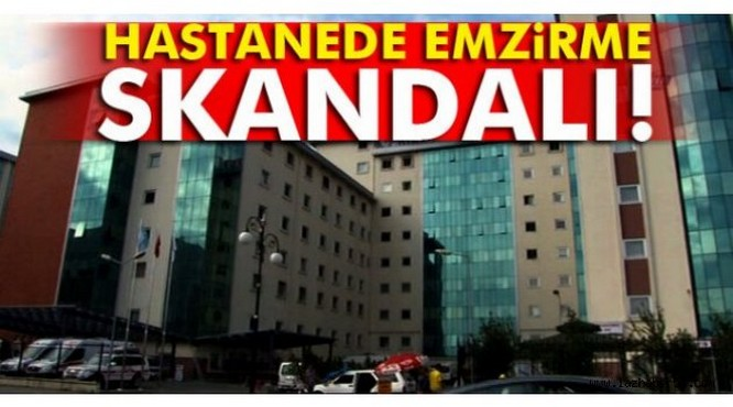 Hastanede emzirme skandalı