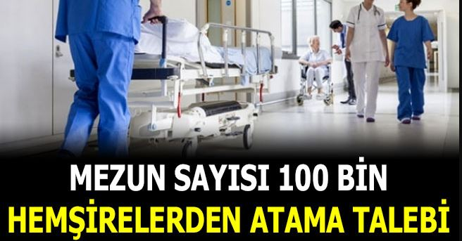Hemşirelerden Atama Talebi