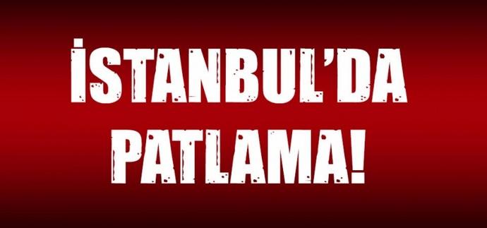 İstanbul'da polis merkezi yakınında patlama! Çok sayıda ambulans olay yerinde!