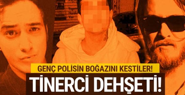 İstanbul'da Tinerciler Genç Polisin Boğazını Kesti !