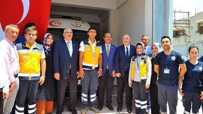 Kadirli'de yeni bir 112 Acil İstasyonu daha açıldı