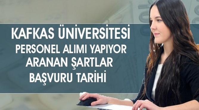 Kafkas Üniversitesi Sağlık Personeli Alımı Yapacak