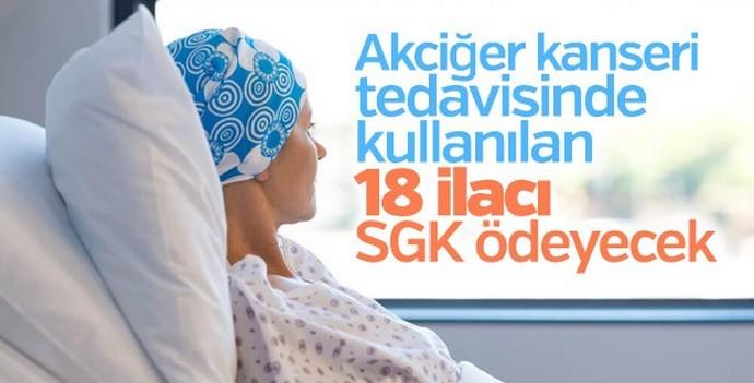 Kanser tedavisinde kullanılan 18 ilaç ücretsiz olacak