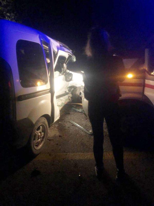 Kastamonu'da Hasta Sevki Yapan Ambulans Kaza Yaptı