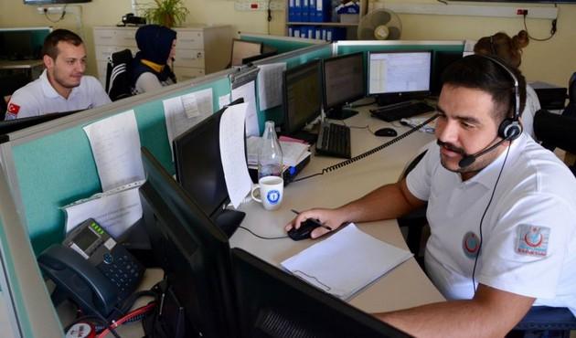 Kırşehir'de 112'ye gelen gereksiz çağrılar azaldı