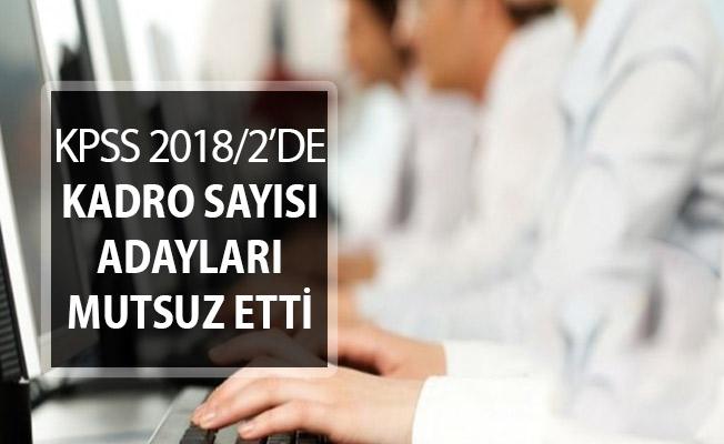 KPSS 2018/2 Merkezi Atamadaki Kadro Sayısı Adayları Mutlu Etmedi