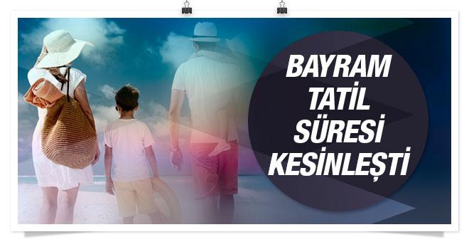 Kurban Bayram tatili kaç gün resmi açıklama geldi