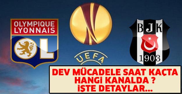 Lyon – Beşiktaş maçı saat kaçta hangi kanalda?