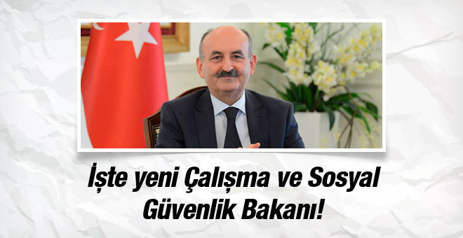 Mehmet Müezzinoğlu, Çalışma ve Sosyal Güvenlik Bakanı oldu