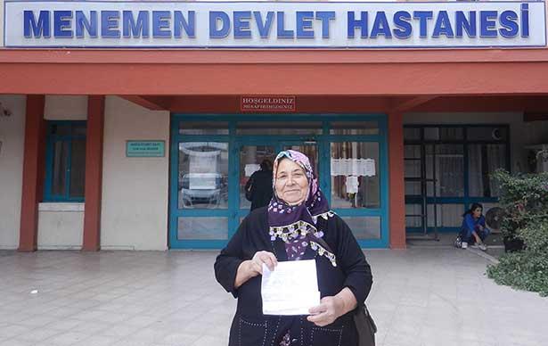 Melek teyze, hastane çalışanlarına şiirle teşekkür etti