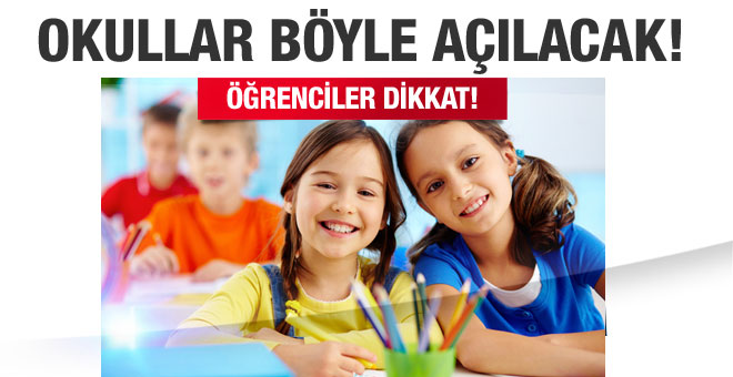 Okullar 15 Temmuz etkinliğiyle açılacak!